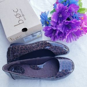 Boc sherbert dark brown leopard flats